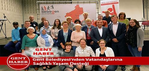 Gent Belediyesi'nden Vatandaşlarına sağlıklı yaşam  desteği