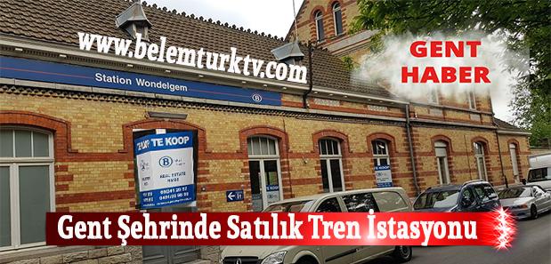 Gent Şehrinde Satılık Tren İstasyonu