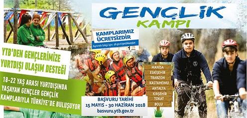 Yurt Dışındaki Gençler Türkiye'de 'Gençlik Kampı'nda Buluşuyor