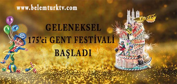 Geleneksel 175′ci Gent Festivali Başladı