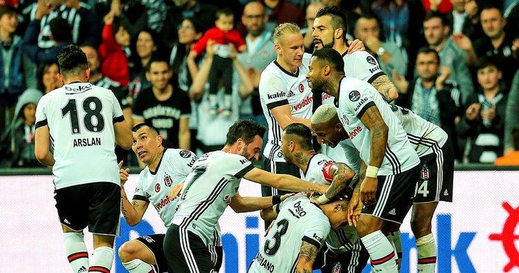 Beşiktaş, Evkur Yeni Malatyaspor'u 2-1 Yendi