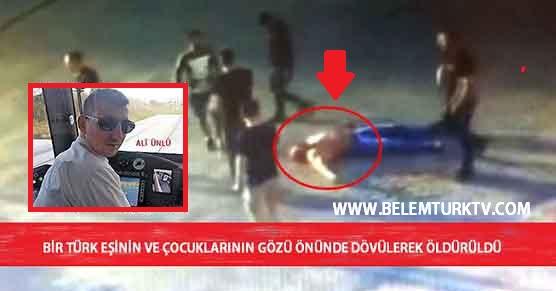 Fransa'da Bir Türk, Eşinin ve Çocuklarının Gözü Önünde Dövülerek Öldürüldü