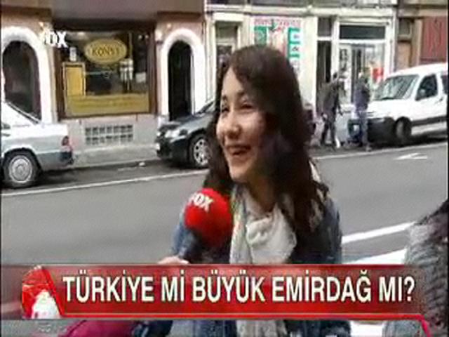 Türkiye mi Büyük Emirdağ mı ?