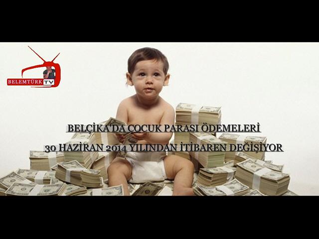Belçika'da Çocuk Parası Ödemeleri Değişiyor