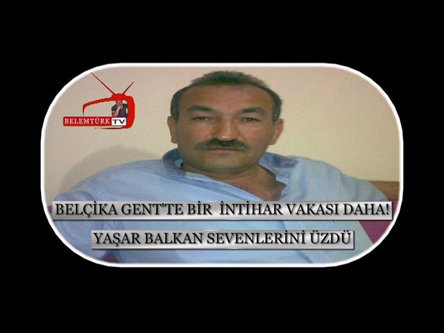 BELÇİKA GENT'TE İKİNCİ İNTİHAR ŞOKU !