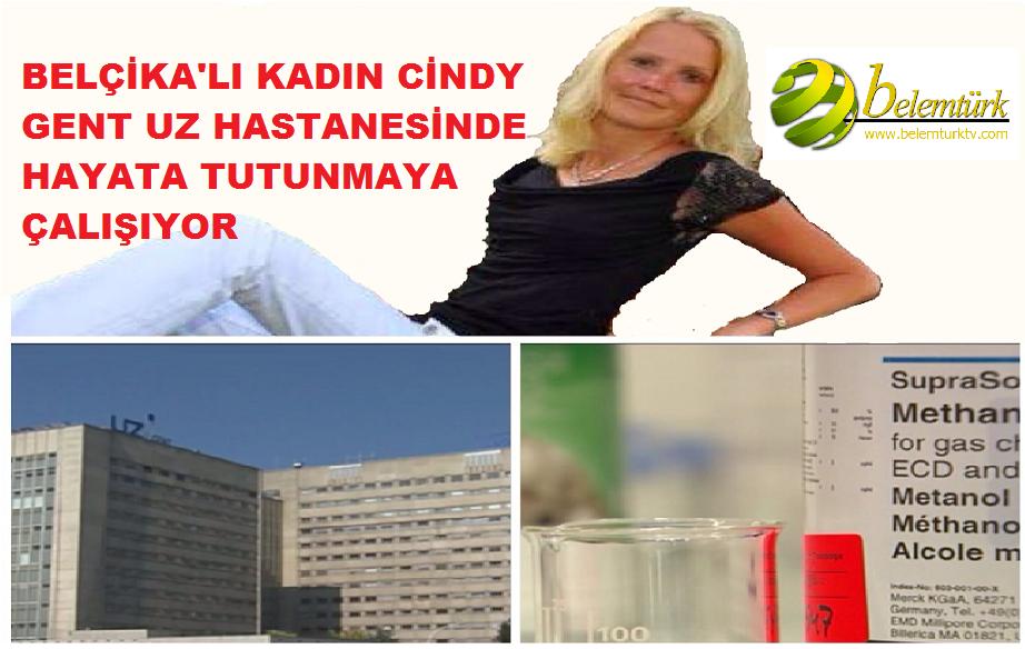 Belçika'lı Cindy Gent UZ Hastanesinde Hayata Tutunmaya Çalışıyor