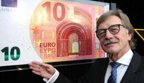 YENİ 10 EURO GÖRÜCÜYE ÇIKIYOR