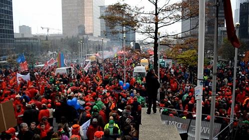 Belçika  1 Aralıkta Bölgesel  15 Aralıkta Genel Greve Gidiyor
