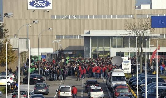 Belçika Genk Şehrindeki Ford Araba Fabrikası Kapandı