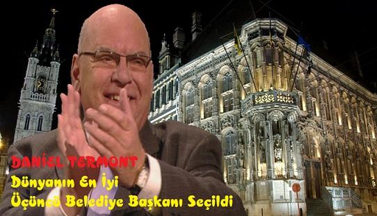 Gent Belediye Başkanı Daniel Termont (SP.A) Dünyanın En İyi Üçüncü Bld. Başkanı Seçildi