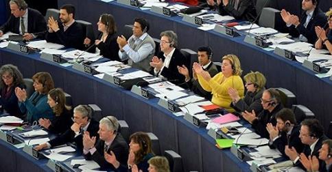 Avrupa Parlamentosu Filistin'i Tanıdı