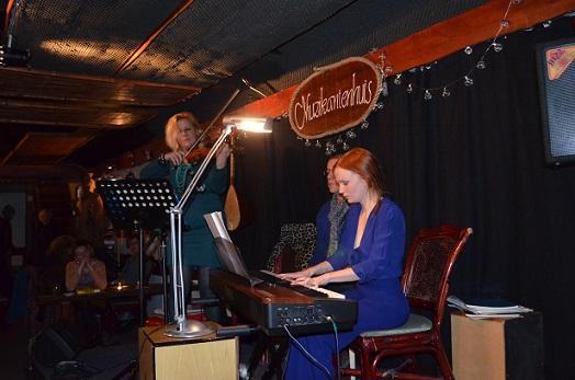 Ann Vancoillie ve Clara Cleymans Müzisyenler Evi Tını'da Konser Verdiler