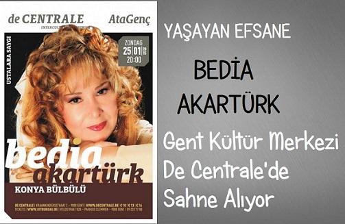 GENT'TE BEDİA AKARTÜRK KONSERİ