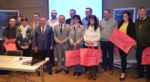 Gent'te  Antalya Manavgat 'Ticaret ve Sanayi Odası' Emlak Tanıtım Resepsiyonu Düzenledi
