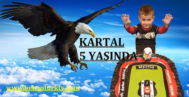 GENT KARAKARTALLAR DERNEĞİNDE KARTAL'IN DOĞUM GÜNÜ SEVİNCİ