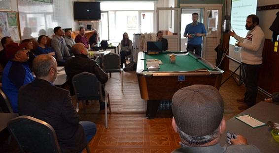 Gent Belediyesi Fatih  Camii'nde Enerji Tasarrufu İçin Bilgilendirme Toplantısı Düzenledi