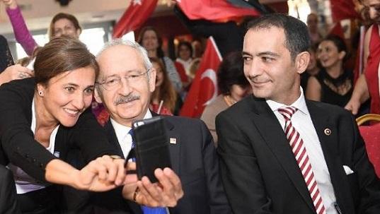 Kılıçdaroğlu Brüksel'de  Belçika'lı Türklerle Buluştu.