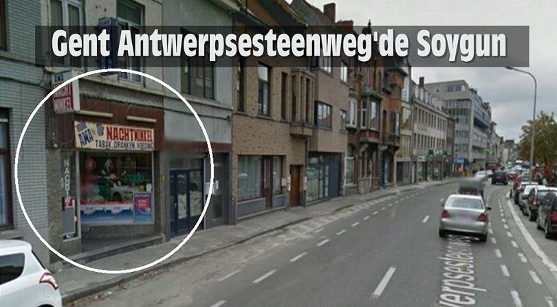 Gent Antwerpsesteenweg'de Silahlı Soygun