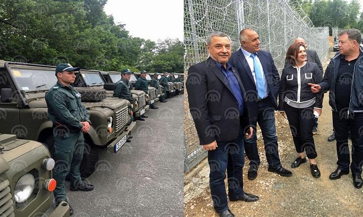 BULGARİSTAN BAŞBAKANI BORİSOV'DAN TÜRKİYE SINIRINDAKİ TEL ÖRGÜ ENGELİNE TEFTİŞ!