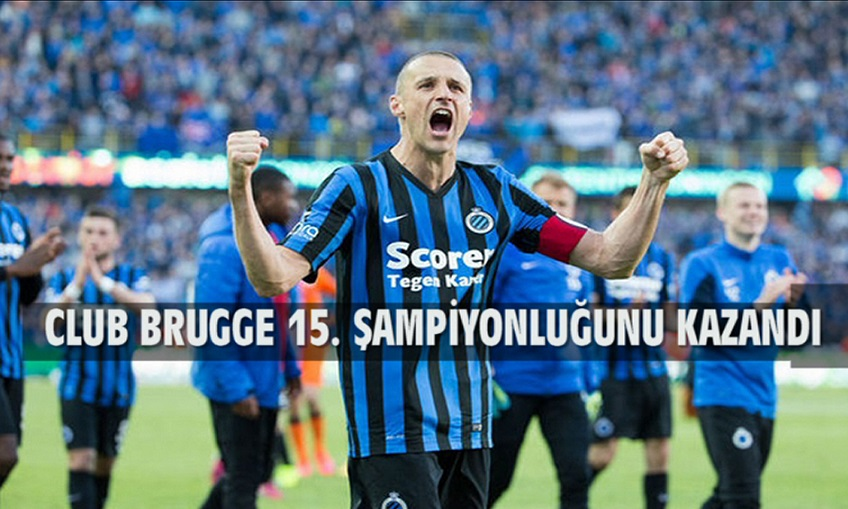 CLUB BRUGGE 15. ŞAMPİYONLUĞUNU KAZANDI !