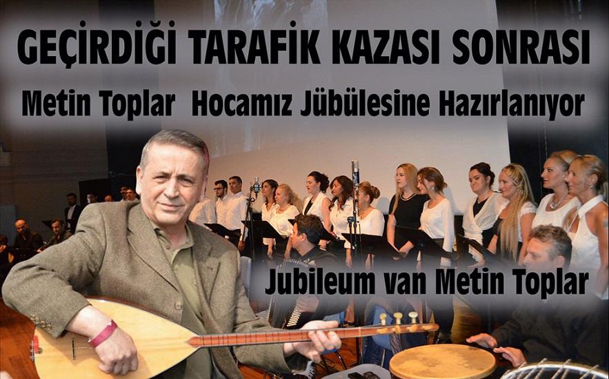 GEÇİRDİĞİ TRAFİK KAZASI SONRASI METİN TOPLAR HOCAMIZ JÜBÜLESİNE HAZIRLANIYOR !