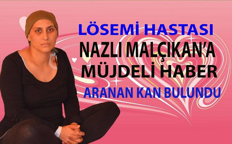 GENT ŞEHRİNDE LÖSEMİ HASTASI OLAN ANNE NAZLI MALÇIKAN'A MÜJDELİ HABER, UYGUN İLİK BULUNDU !