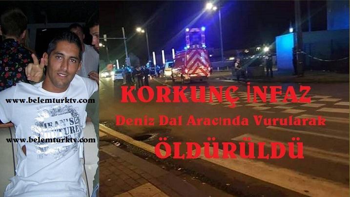 Brüksel'de  Deniz Dal Adındaki Türk Vatandaşı Aracında Vurularak Öldürüldü