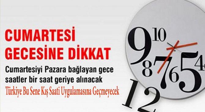 Avrupa ile Türkiye Arasındaki Saat Farkı 2'ye Çıkıyor