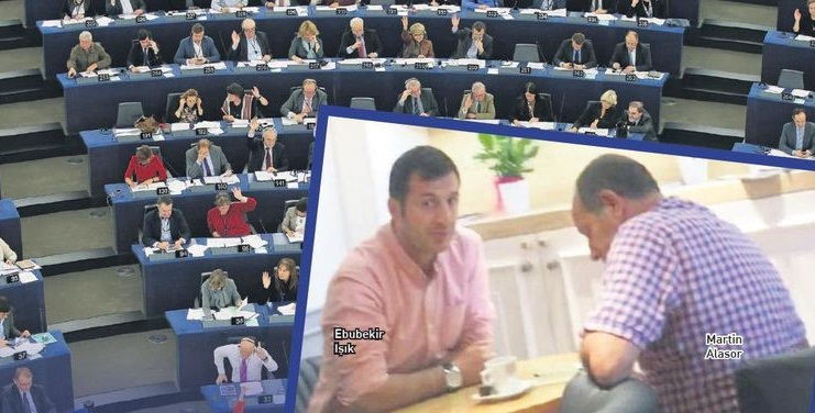 Avrupa Parlamentosu Kafeteryasında FETÖ-PKK Mesaisi