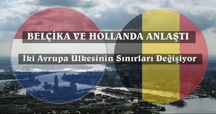 Belçika ve Hollanda Aralarındaki Sınırın Tekrar Çizilmesi Konusunda Anlaştı