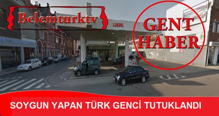 Gent şehrinde soygun yapan Türk genci tutuklandı