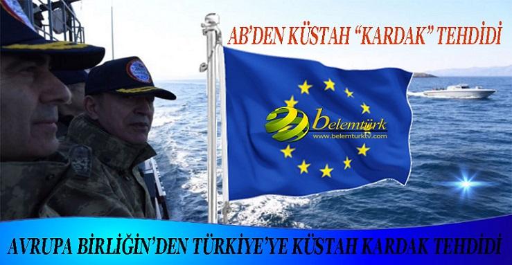 Avrupa Birliği'nden Türkiye'ye Küstah 'Kardak' Tehdidi