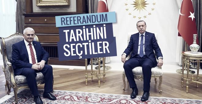 Referandum ne zaman Erdoğan ve Yıldırım'ın anlaştığı tarih