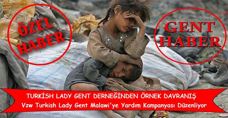 Vzw  Turkish Lady Gent, Malawi'deki Yoksul Müslümanlar İçin Yardım Kampanyası Düzenliyor