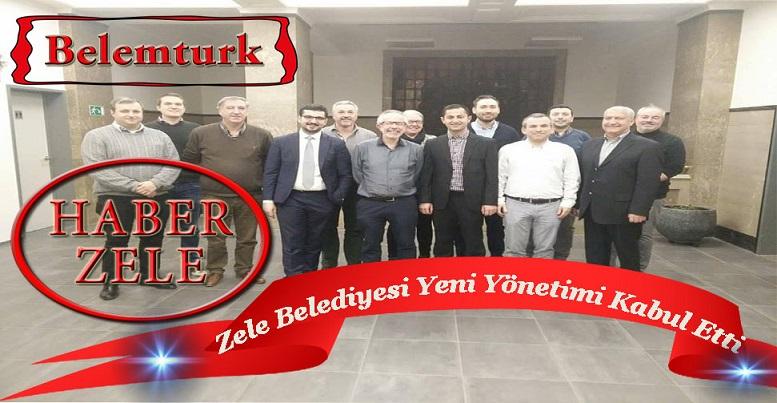 Zele Belediyesi, Eyyüp El-Ensari Camii'nin Yeni Yönetimini Kabul Etti