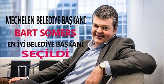 Bart Somers En İyi Belediye Başkanı Seçildi