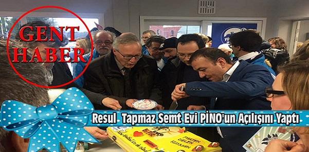 Resul Tapmaz Semt Evi PİNO'nun Açılışını Yaptı