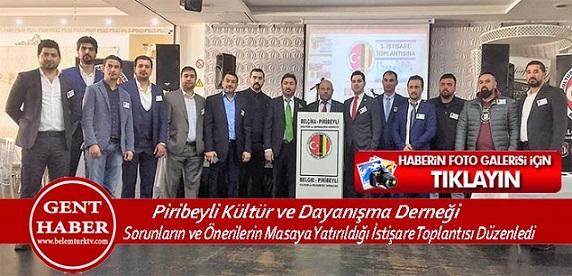 Piribeyli Kültür ve Dayanışma  Derneği, Sorunların ve Önerilerin Masaya Yatırıldığı İstişare Toplantısı  Düzenledi