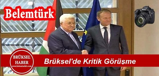 Brüksel'de Kritik Görüşme