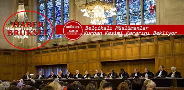 Belçikalı Müslümanlar, Avrupa Adalet Divanı'ndan Kurban Kesimi Kararını Bekliyor