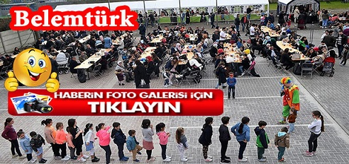 Sint-Niklaas Türk Kültür Merkezi Hicret Camii  9. Geleneksel Kermes Etkinliği Düzenledi