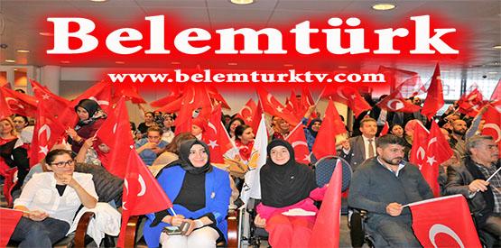 Belçika UETD ( Avrupa Türk Demokratlar Birliği)  sonuçların açıklanması sonrası zafer kutlaması yaptı (Görüntülü)