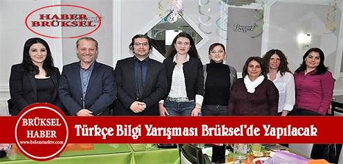 Türkçe Bilgi Yarışması Finali Brüksel'de Yapılacak