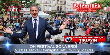 5. defa düzenlenen   'Oh Festival'  önceki yıllara göre daha büyük bir  ilgi gördü.