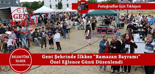 """Gent Şehrinde Çocuklar İçin """"Ramazan Bayramı"""" Özel Eğlence Günü Düzenlendi"""