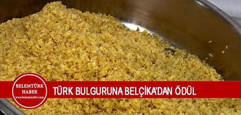 Türk Bulguruna Belçika'dan Ödül