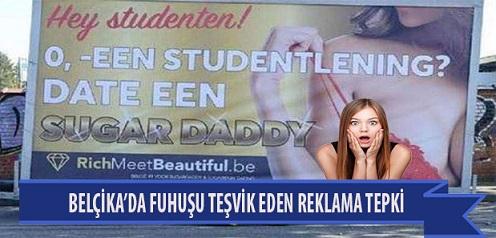 "Belçika'da ""Fuhşu"" Teşvik Eden Reklama Tepki"