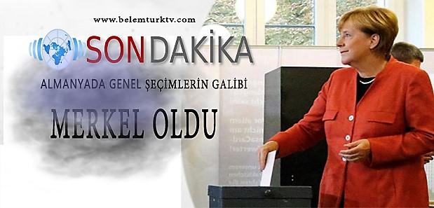 Son Dakika! Almanya'da Genel Seçimlerin Galibi Merkel Oldu