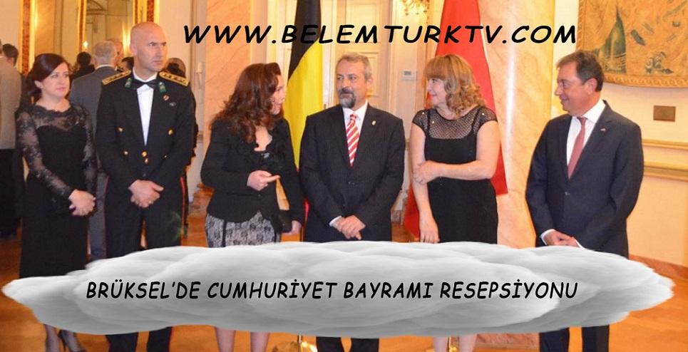 Brüksel'de Cumhuriyet Bayramı Resepsiyonu