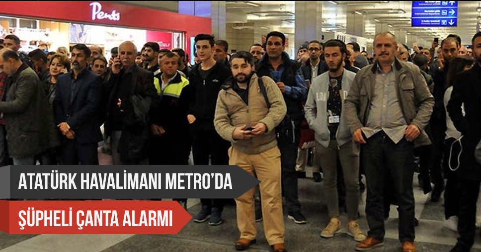 Atatürk Havalimanı'nda Şüpheli Çanta Alarmı! Fünyeyle Patlatıldı